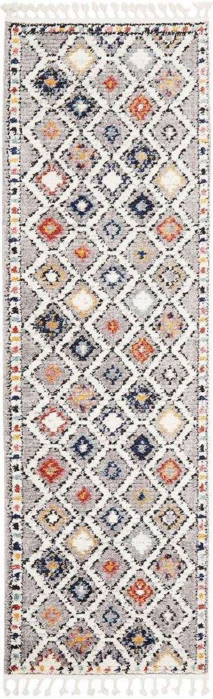 Aztec Rug | Grey Diamonds Runner