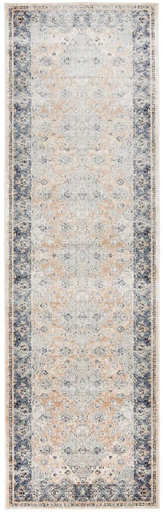 Bella Rug | Grey Vintage Runner