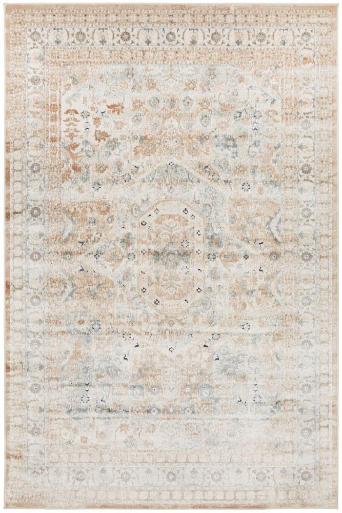 Bella Rug | Central Traditional Beige