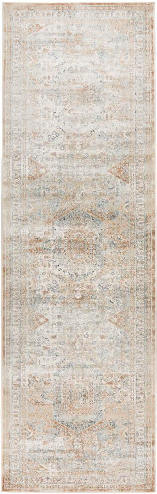 Bella Rug | Faded Beige Runner
