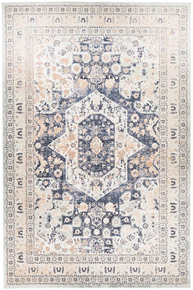 Bella Rug | Traditional Blue Beige