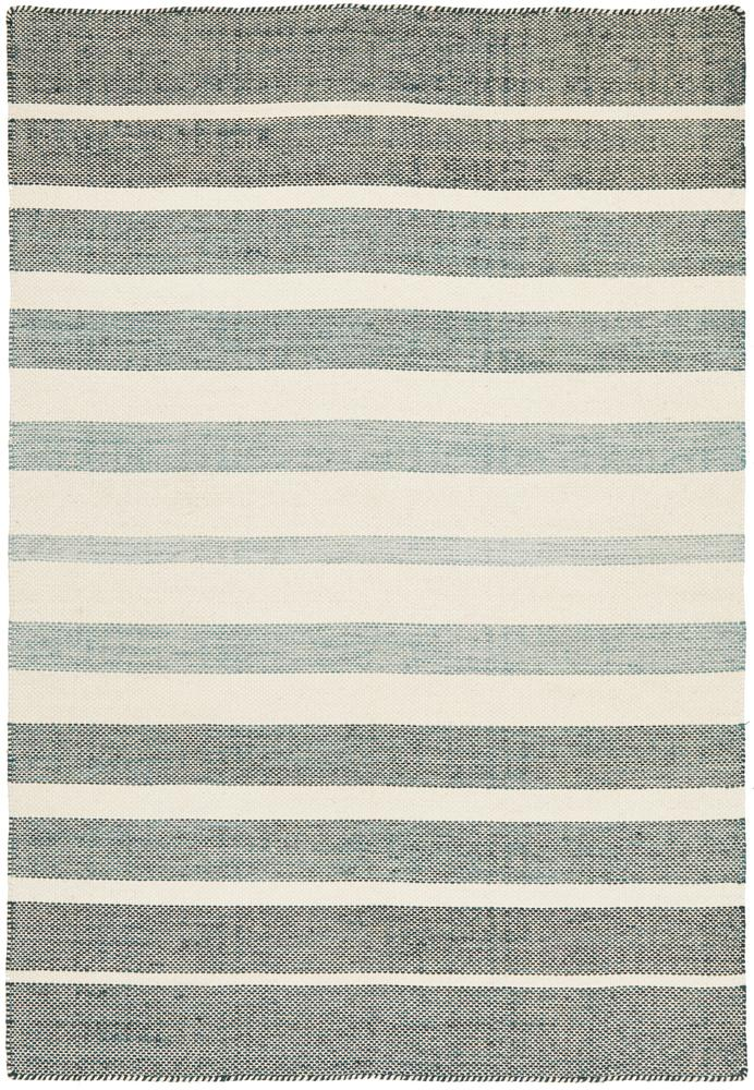 Dehli Rug | Blue Stripe