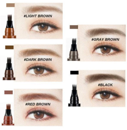 4 Point Water Proof Eyebrow Filling Pen