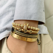 Load image into Gallery viewer, Royal Crown Bracelet-Gold