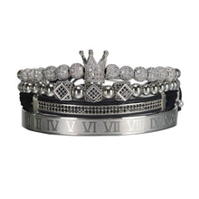 Load image into Gallery viewer, Royal Crown Bracelet-Silver