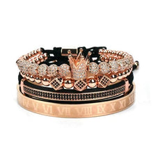 Load image into Gallery viewer, Royal Crown Bracelet-Rose Gold