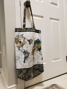 Northcott Project Panel - Canvas Tote - Part One