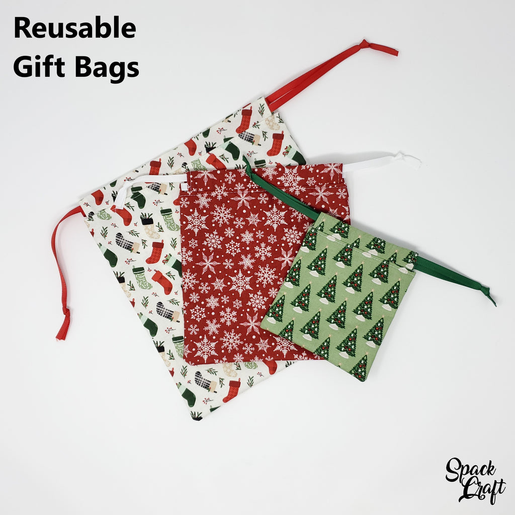 DIY Reusable Gift Bags