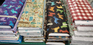 New Shipment!  Hooray for more fabric and brands!