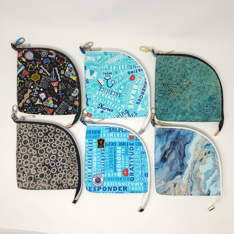 Mask Bags made with Spack Craft Fabric prints