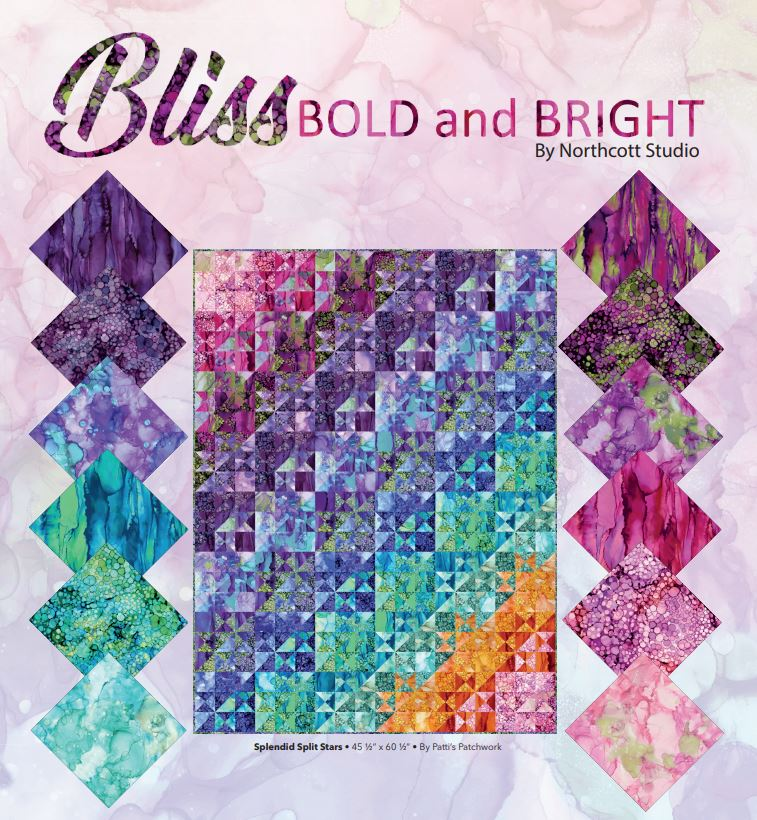 Bliss Bold and Bright by Northcott Studios
