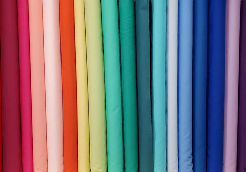 Group shot of Northcott Colorworks Solids