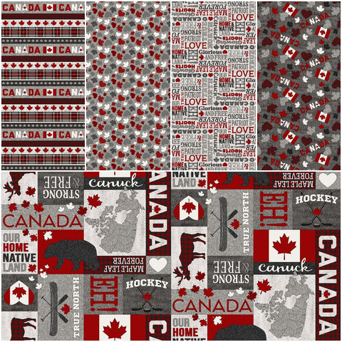 My Canada Collection prints