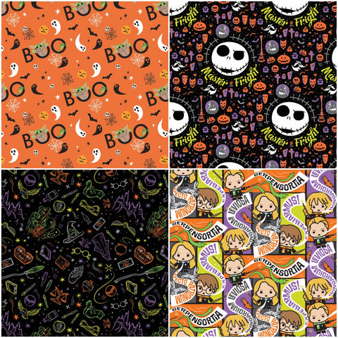 Character Halloween Swatch Collage