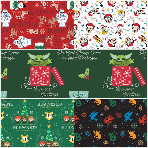 Character Winter Holiday Swatch Collage