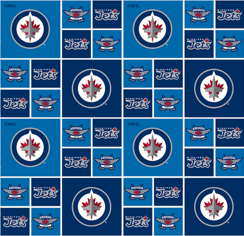 NHL - Winnipeg Jets - 020 JET (1/2 Yard)