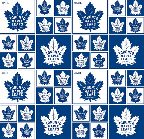 NHL - Toronto Maple Leafs - 020 MAP (1/2 Yard)