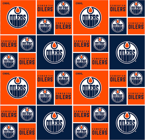 NHL - Edmonton Oilers - 020 OIL (1/2 Yard)