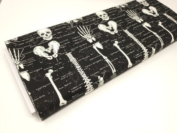Glow In The Dark - Skeletons - FUN-CG9810 (1/2 Yard)