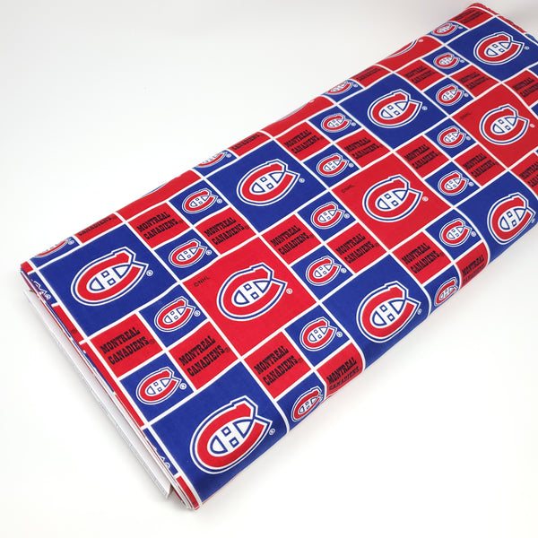 NHL - Montreal Canadiens - 020 CAN (1/2 Yard)