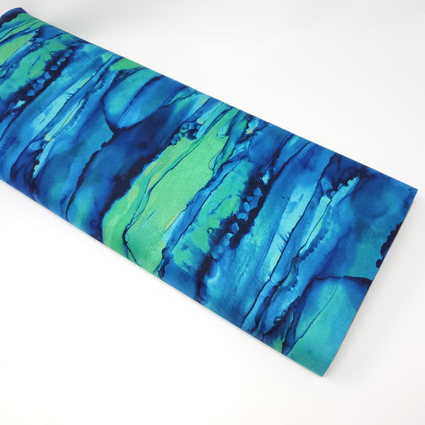 Bliss Bold and Bright - Reflections (Blue Lagoon) - DP23889-43 (1/2 Yard)