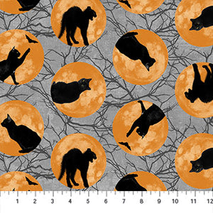 Black Cat Capers - 24118-95 (1/2 Yard)