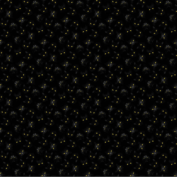 Black Cat Capers - 24120-99 (1/2 Yard)