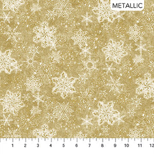 Stonehenge - White Christmas - 24205M-12 (1/2 Yard)
