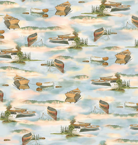 Outdoors - Boats - 26391 B (1/2 Yard)