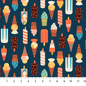 Simple Pleasures - Ice Cream - 90310-49 (1/2 Yard)