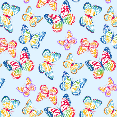 Butterflies - 9413-11 (1/2 Yard)