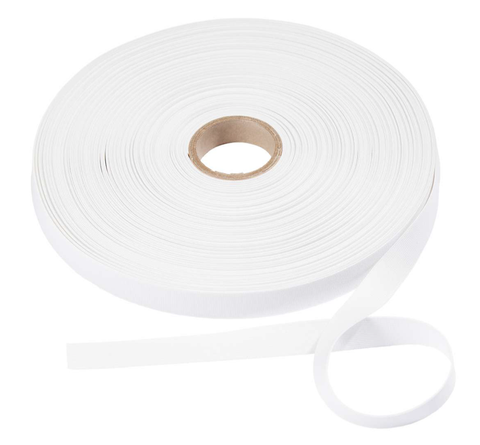 Prym Soft Elastic - 35mm wide - White (by the yard)