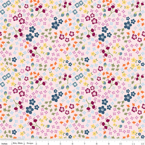 Bloom and Grow - Pink Floral - C10112-PINK (1/2 Yard)
