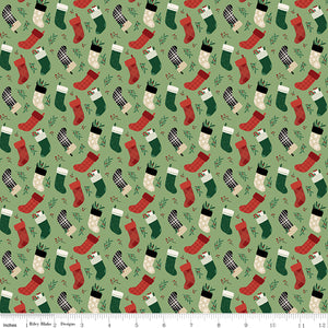 Christmas Traditions - Stockings - C9594-GREEN