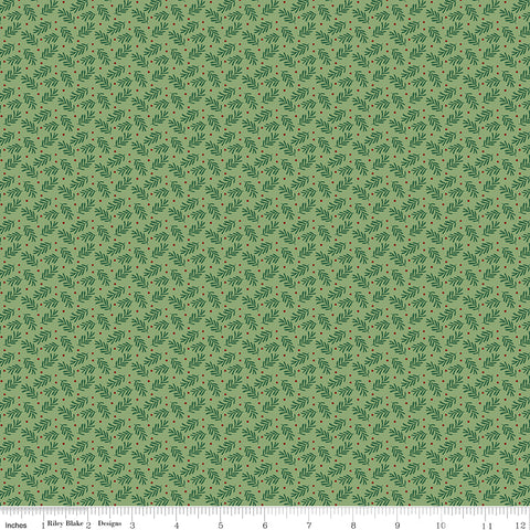 Christmas Traditions - Sprigs - C9596-GREEN