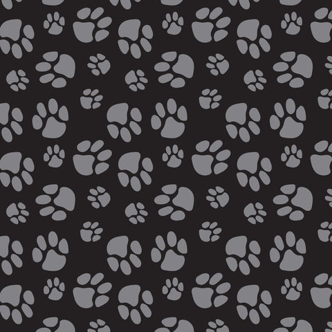 Fleece - Paw Prints - CAM21179802A-1 (1/2 Yard)