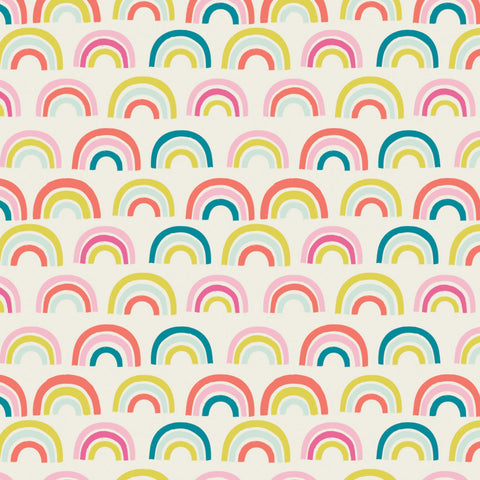Fleece - Rainbows - CAM21200104A-1 (1/2 Yard)