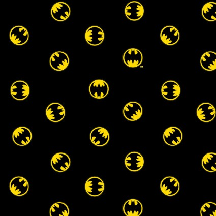 DC Comics - 80th Anniversary Logo - CAM23200124-1 (1/2 Yard)
