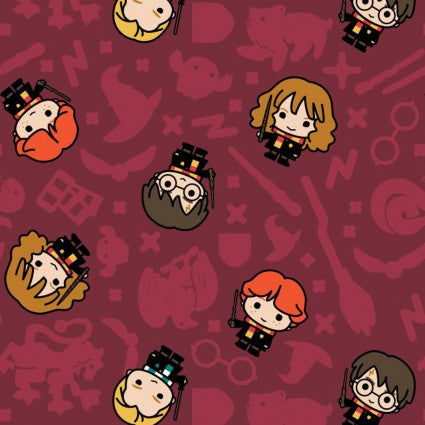 Harry Potter - Kawaii Harry Potter - CAM23800227-1 (1/2 Yard)