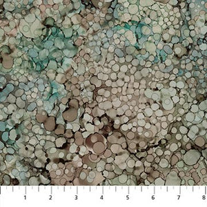 Whispering Pines - Celedon Alcohol Ink Spots - DP23758-61 (1/2 Yard)