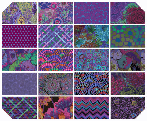 "5"" Charm Pack - Kaffe Fassett Collective - New Classics - Emperor (42 pc)"