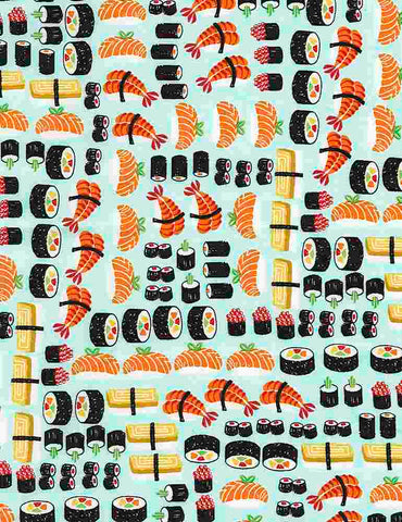 Food/Beverage - Sushi - FOOD-C5244 (1/2 Yard)