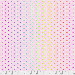 Tula Pink - True Colors - Hexy Rainbow - Shell -  PWTP151.SHELL (1/2 Yard)