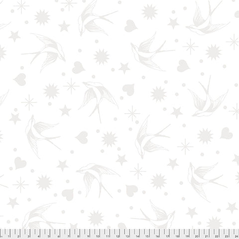 Tula Pink - Linework - Fairy Flakes - Paper - PWTP157.PAPER (1/2 Yard)