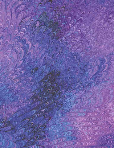 Pansy Paradise - Pansy Marbled - Pansy-C7728 Purple (1/2 Yard)