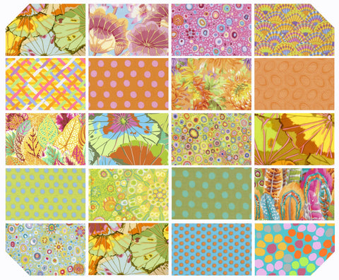 Fat Quarter Bundle - Kaffe Fassett Collective - New Classics - Parakeet (20 pc)