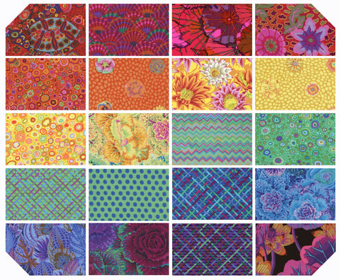 "5"" Charm Pack - Kaffe Fassett Collective - Classics - Prism (42 pc)"