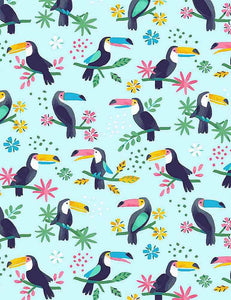 Aloha - Toucan Do It - STELLA-1514 CANAL (1/2 Yard)