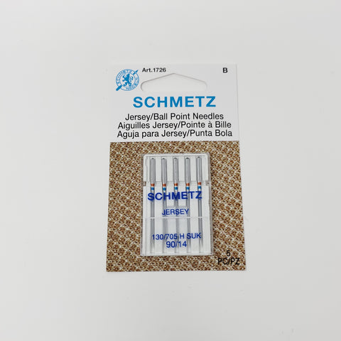 Schmetz - Jersey/ Ball Point needles (5) - Size 90/14