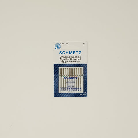 Schmetz - Universal needles (10) - Assorted Sizes (70/80/90)